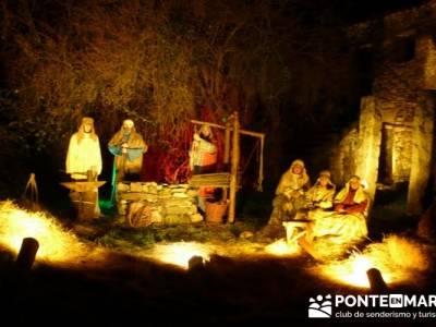 Senderismo Sierra Norte Madrid - Belén Viviente de Buitrago; senderismo euskadi